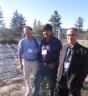 Ping Liang, Victor Gonzalez and Soheil Mahmoud at the 2014 BC Lavender Workshop